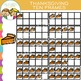 Thanksgiving Ten Frames Clip Art