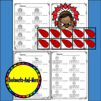 Thanksgiving Ten Frames/Number Recognition