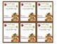 Thanksgiving Tent Labels | Thanksgiving Tent Tags