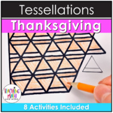 Thanksgiving Tessellations Math Project