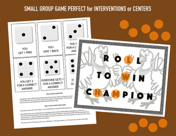 Thanksgiving Text Structures Task Cards