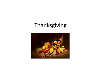 """Thanksgiving CORE WORDS """"Thank You"""""""