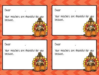 Thanksgiving Thank You