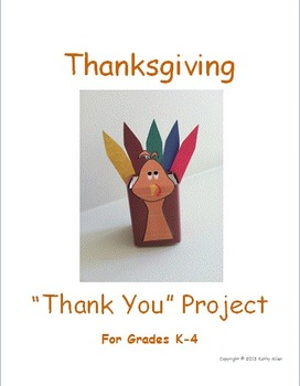 Thanksgiving Day Thank You Craft Project