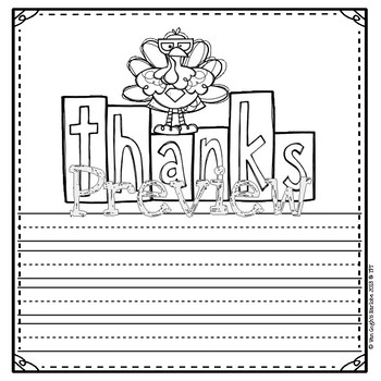 Thanksgiving Thank Yous Letter & Card Templates