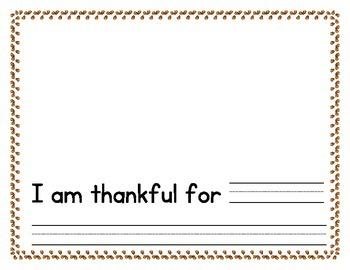 Thanksgiving: Thankful Book