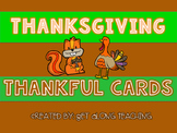 Thanksgiving Thankful Cards
