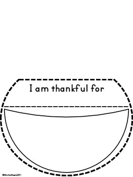 Thanksgiving Thankful Craft {Easy and Differentiated}