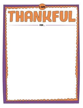 Thanksgiving Thankful Draw-It!