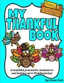 Thanksgiving Thankful Journal