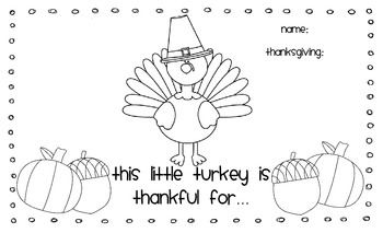 Thanksgiving Thankful Placemat