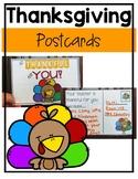 Thanksgiving Thankful Postcards