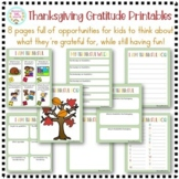 Thanksgiving Thankful Games and Activities