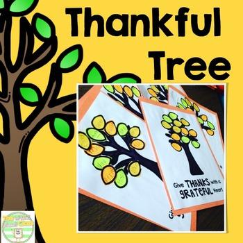 Thanksgiving Thankful Tree Project