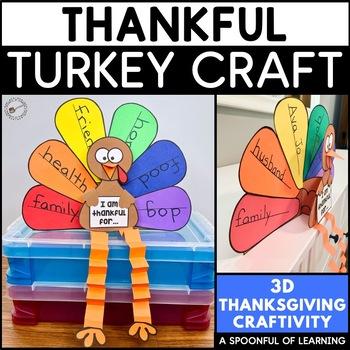 Thanksgiving Thankful Turkey Craft