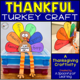 Thanksgiving Thankful Turkey Craft