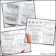 Thanksgiving Activity Thankfulness Coloring Pages and Reflection Journal