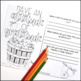 Thanksgiving Activity | Thankfulness Coloring Pages and Reflection Journal