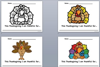 Thanksgiving Thanks Posters