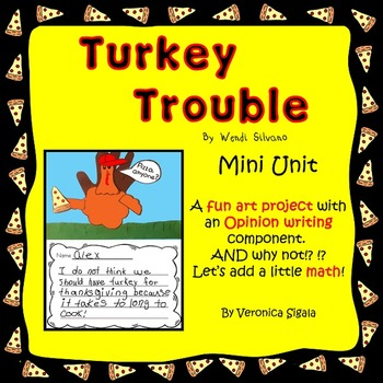 Thanksgiving, Thanksgiving Activities, Thanksgiving Writing Turkey Trouble