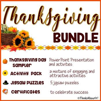 Thanksgiving: Thanksgiving Day Bundle
