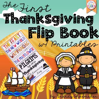 Thanksgiving: The First Thanksgiving Flip Book