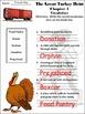 Thanksgiving Activities: The Great Turkey Heist Thanksgiving Reading Activity