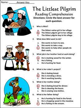 Thanksgiving Activities: The Littlest Pilgrim Thanksgiving Activity Bundle