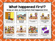 Thanksgiving: The Night Before Thanksgiving Sequencing Activity