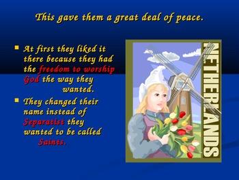 Thanksgiving : The Pilgrims