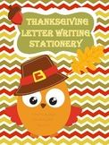Thanksgiving Thematic Letter Writing Templates