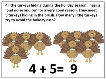Thanksgiving Theme Addition Books