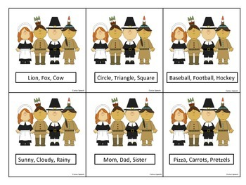 Thanksgiving Theme Categories