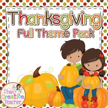 Thanksgiving Theme Kit