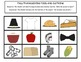 Thanksgiving Theme Pre-K Receptive and Expressive Language Packet