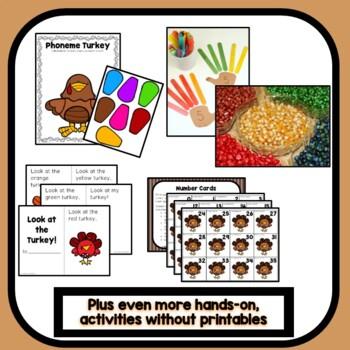 Thanksgiving Theme Preschool Lesson Plans