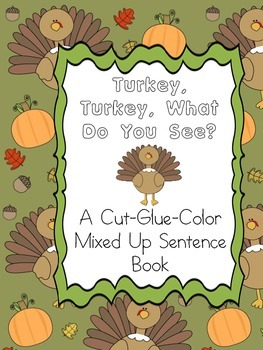 "Thanksgiving Theme ""What Do You See"" Book"
