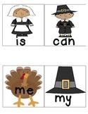 Thanksgiving Theme Write the Room