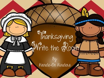 Thanksgiving Theme Write the Room