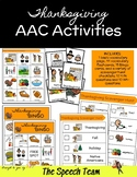 Thanksgiving-Themed AAC Activities