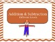 Thanksgiving Themed Addition and Subtraction Game