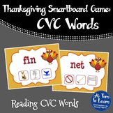 Thanksgiving CVC Game: Find the CVC Picture (Smartboard/Promethean Board)