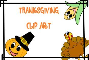 Thanksgiving Themed Clip Art