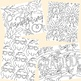 Thanksgiving Themed Coloring Pages by Taracotta Sunrise