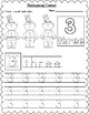 Thanksgiving Themed Count, Trace & Color Numbers 1-10