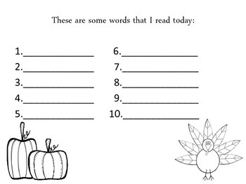 Thanksgiving Themed Digraph and Blend Game (CCSS Aligned)