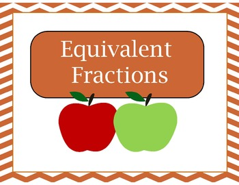 Thanksgiving Themed Equivalent Fractions Game