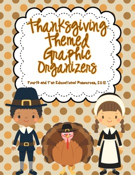 Thanksgiving Themed Graphic Organizers