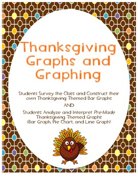 Thanksgiving Themed Graphs- Constructing Own and Interpret