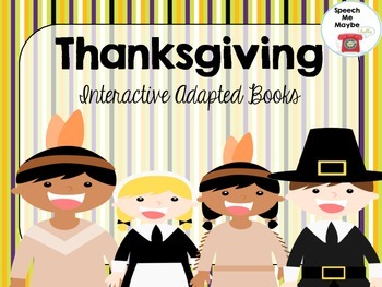 Thanksgiving Themed Interactive Books